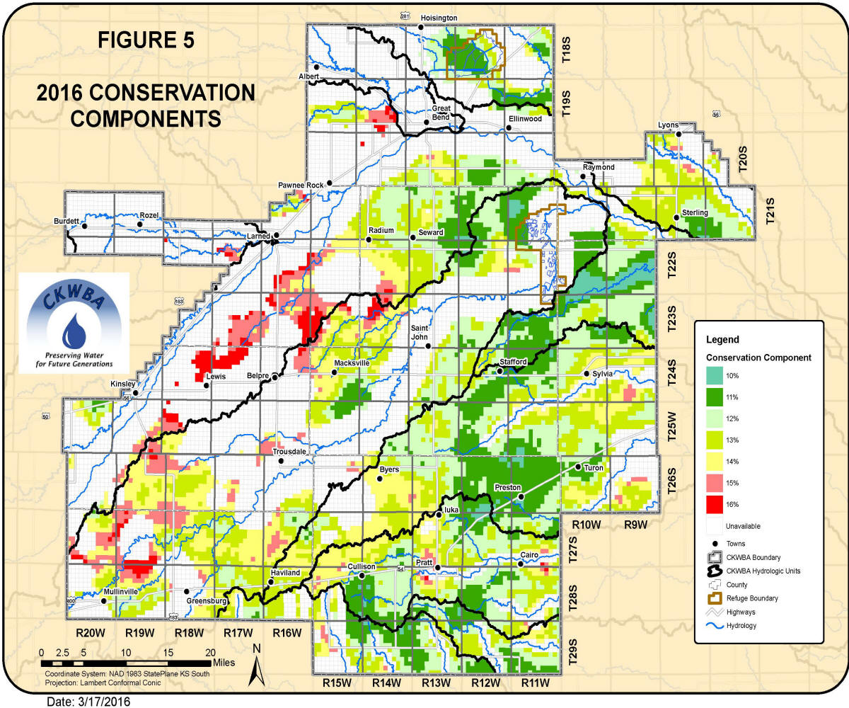 2016 Conservation Component Map